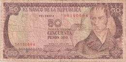 COLOMBIE   50 Pesos Oro   1/1/1985   P. 425a - Colombie