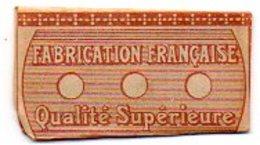 L096 Lame 'sans Nom'  Fabrication Francaise - Rasierklingen