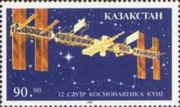 Kazakhstan 1993 Mih. 27 Day Of Space MNH ** - Kazachstan