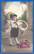 Fantaisie; Geburtstag; Anniversaire; Birthday; Kind Mit Tube; 1929 - Geburtstag