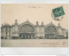 Cp , 37 , TOURS , La Gare - Tours