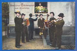 Fantaisie; Geburtstag; Musik; Orchester; 1913 - Musik Und Musikanten