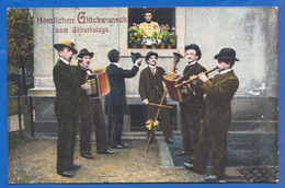 Fantaisie; Geburtstag; Musik; Orchester; 1913 - Music And Musicians
