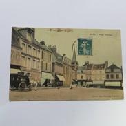 80 - ROYE - La Place D'armes En 1908 - Roye