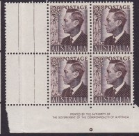 Australia 1951 SG 237c Mint Never Hinged - Nuovi