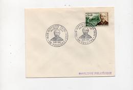France FDC Hippolyte Taine, Historien  9/7/1966 Vouziers YT 1475 - FDC