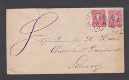 BRIEF NACH CHUR VIA ZURICH,1883. - Allemagne