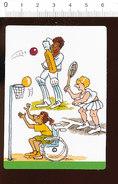 Humour Sport Cricket Basket-ball Tennis Basketball Handisport Handibasket / IM 175/9 - Oude Documenten