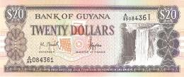 GUYANA   20 Dollars   ND (1996)   Sign.10   P. 30a   UNC - Guyana