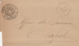 Mottola. 1891. Annullo Grande Cerchio Su Franchigia + AGENZIA DELLE TASSE - 1878-00 Humbert I