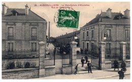 93 - AUBERVILLIERS -- La Manufacture D'Allumettes Rue Du Vivier - Aubervilliers