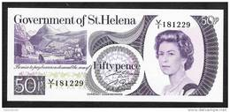 SAINT-HELENA P5 50 PENCE    1979   UNC. - Saint Helena Island