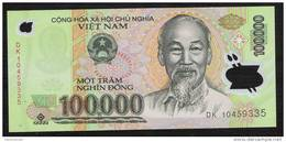 VIETNAM P122  100.000 DONG 2010   UNC. - Vietnam