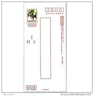 2014 Pre-stamp Domestic Registered Cover Berry Plant Fruit Postal Stationary - 1945-... Republic Of China