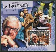 1220 Burundi 2012  Ray Bradbury, American Author, Famous People POSTFRISCH NEUF MNH ***