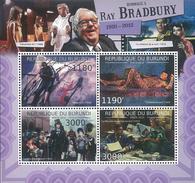 1221 Burundi 2012  Ray Bradbury, American Author, Famous People POSTFRISCH NEUF MNH ***