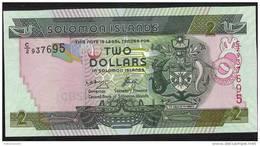 SOLOMONS ISLANDS  P25   2  DOLLARS   2004    Signature 8 Prefix C/2      UNC. - Salomons