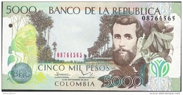 COLOMBIA  P452   5000  PESOS   2013    UNC. - Kolumbien
