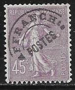N° 46   FRANCE  -  PREO TYPE SEMEUSE  - NEUF  -  1922 / 1947 - Préoblitérés