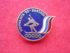 Biathlon Murmansk 1993 Russia Pin - Biathlon