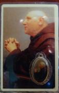 Père Valentin Paquay -Carte Plastifiée Et Médaille, Avec Prière - Religion & Esotericism