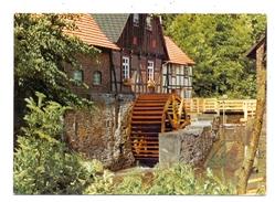 4788 WARSTEIN - NIEDERBERGHEIM, Wassermühle - Warstein
