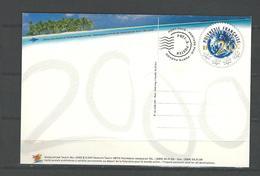 """Polynésie Prêt-à-poster Yt 14-CP """" D'un Siècle à L'autre """" 1999 Neuf** - Prêt-à-poster"""