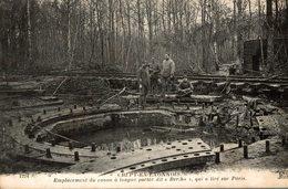 CREPY EN LAONNOIS EMPLACEMENT DU CANON A LONGUE PORTEE BERTHA QUI A TIRE SUR PARIS - Oorlog 1914-18