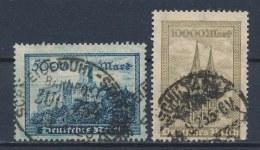 Duitse Rijk/German Empire/Empire Allemand/Deutsche Reich 1923 Mi: 261-262 Yt: 249-250 (Gebr/used/obl/o)(1923) - Duitsland