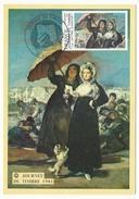 """FRANCE => Carte Fédérale """"Journée Du Timbre"""" 1981 - 1,40 + 0,30 La Lettre D'amour - Marseille (13) - Stamp's Day"""