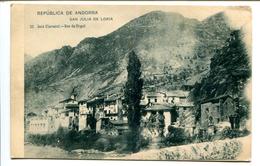 BTPYS Andorre,   San Julia De Loria, Carte Pas Courante ,N° 22 José Claverol - Andorra