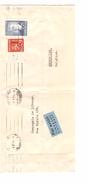Finland Lion Stamp Air Mail Cover Helsinki 1951 To Brussels Belgium PR4351 - Finlande