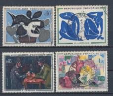 Frankrijk/France/Frankreich 1961 Mi: 1372-1375 Yt: 1319-1322 (Gebr/used/obl/o)(1955) - Frankrijk