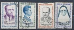 Frankrijk/France/Frankreich 1961 Mi: 1342-1345 Yt: 1288-1291 (Gebr/used/obl/o)(1949) - France
