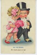 """ENFANTS - Jolie Carte Fantaisie Enfants élégants """"En Route Pour Le Bal ! ON THE SPREE ! - Dessins D'enfants"""
