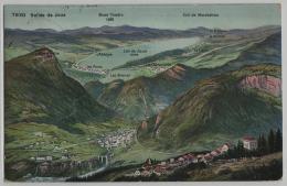 Valle De Joux - Vallorbe, Ballaigues, Le Day, Les Ponts, L'Abbaye, Le Brassus - Phototypie No. 7930 - VD Waadt