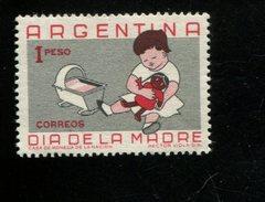 439944840 ARGENTINIE DB 1959 POSTFRIS MINTNEVER HINGED POSTFRIS NEUF YVERT 610 - Argentinien