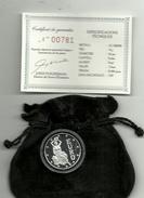 ANDORRA SERVEI D'EMISSIONS EURO 1DINER 1997 EN PLATA ESTUCHE CERTIFICADO(M.C.4.17) - Andorra