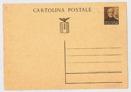 CARTOLINA POSTALE CENT.30 REPUBBLICA SOCIALE - NUOVA (RL256 - 4. 1944-45 Repubblica Sociale