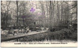 76 MAROMME - Chutes Sur La Rivière De Cailly - Etablissement Delaporte     (Recto/Verso) - Maromme