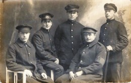 Carte-Photo -  Militaires Anglais - Guerra 1914-18