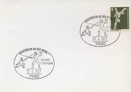 GERMANY - COUPE D'EUROPE  - SCHERMA - HEIDENHEIM  1977 - Scherma