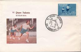 BRASIL - JOGOS ENFANTIS  1956 - SCHERMA ESCRIME  1956 - Scherma