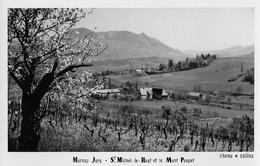 MARNOZ → St.Michel - Le - Haut Et Le Mont Poupet, Ca.1945 - JU Jura