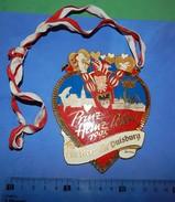 Huge ''Schutz'' Medal: PRINZ HEINZ PETER I 1995 EIN HERZ FUR DUISBURG - Obj. 'Souvenir De'
