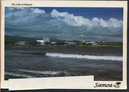 °°° GF32 - SAMOA - THE CRADLE OF POLYNESIA - ISLAND OF UPOLU - With Stamps °°° - Samoa