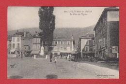 Allevard Les Bains  --  La Place De L Eglise - Allevard