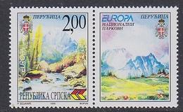 Europa Cept 1999 Bosnia/Herz. Serbia 2M Value (+label)  ** Mnh (35329C) - 1999