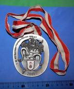 Huge ''Schutz'' Medal: 1.Gr.KG ROT-WEISS HAMBORN-MARXLOH 1958 E. V. 2001 - Autres Collections
