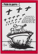 CPM LARDIE JIHEL Tirage Limité En 100 Exemplaires Antimilitariste Contre La Guerre Pacifisme - Evènements